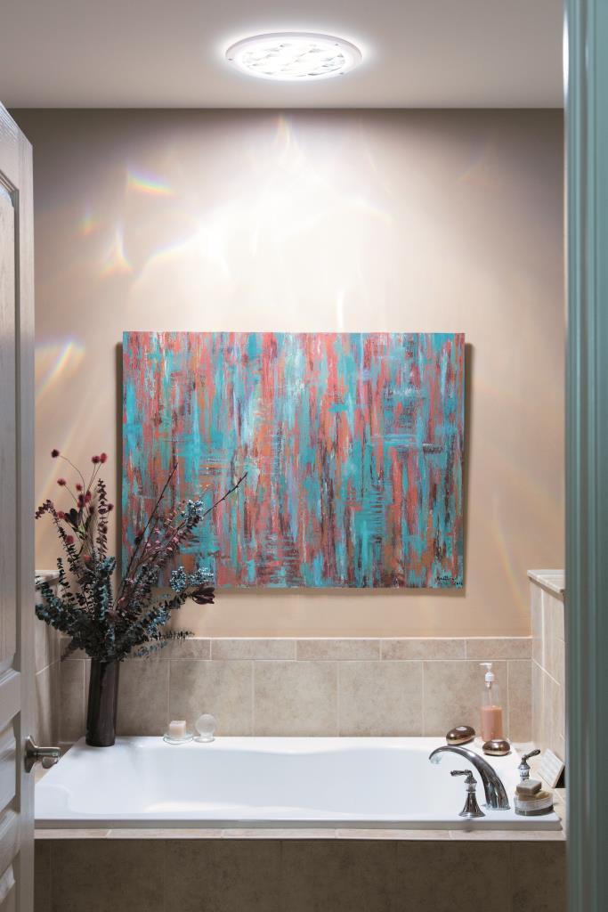 Puit de lumiere Solatube salle de bain